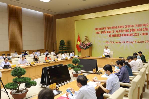 Chương trình Chương trình Mục tiêu quốc gia về Dân tộc thiểu số và miền núi đối với phát triển KT-XH