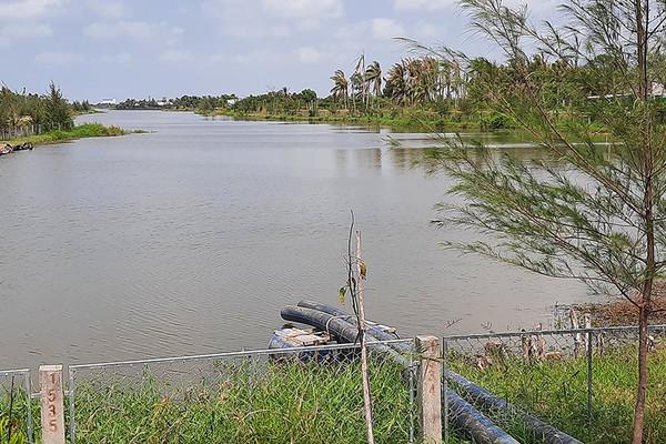 Ba Tri (Bến Tre):Chủ động tích trữ nước ngọt,chống hạn mặn