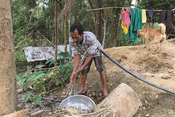 Quảng Ngãi: Mới đầu mùa khô đã lo thiếu nước