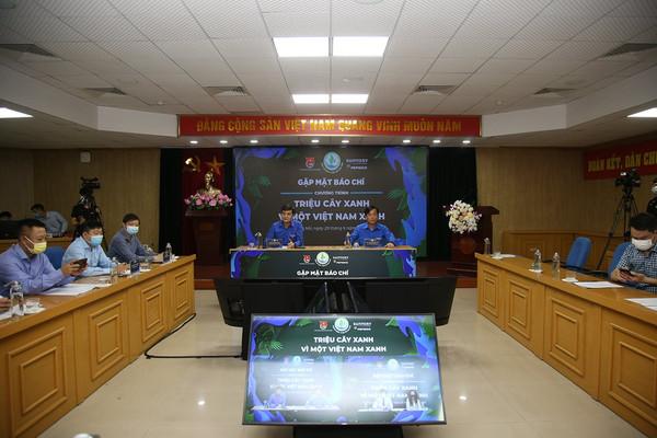 Tuổi trẻ Việt Nam góp sức trong trong việc phát triển cây xanh, bảo vệ môi trường, ứng phó với BĐKH