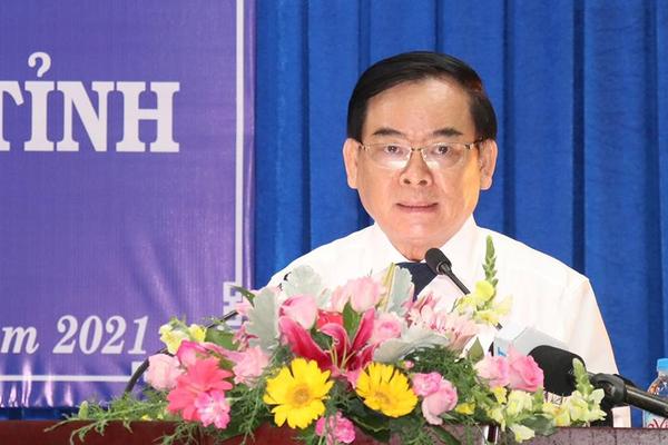 Ông Trần Ngọc Tam tái đắc cử chức Chủ tịch UBND tỉnh Bến Tre