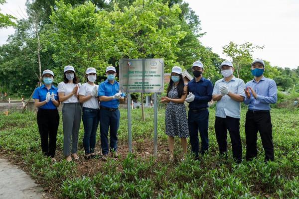 Trồng cây hưởng ứng Tháng hành động vì môi trường