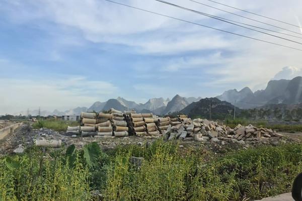 Hà Nam: Chưa được giao đất, Công ty Thu Ngân đã ồ ạt san lấp, thi công dự án nhà ở tại huyện Thanh Liêm