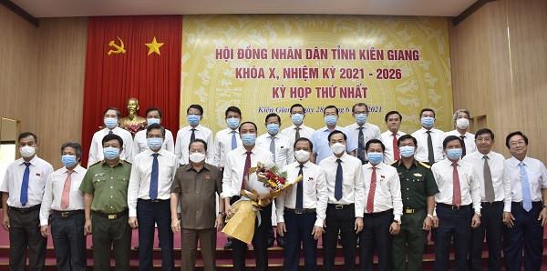 Kiên Giang: Phó Bí thư Thường trực Tỉnh ủy tái đắc cử Chủ tịch HĐND tỉnh