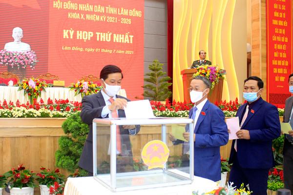 Lâm Đồng: Bầu các chức danh lãnh đạo chủ chốt nhiệm kỳ mới