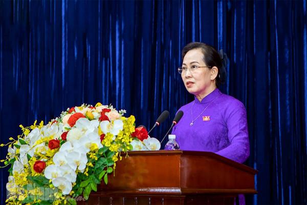 Bí thư Tỉnh uỷ Hà Nam Lê Thị Thuỷ được bầu làm Chủ tịch HĐND tỉnh