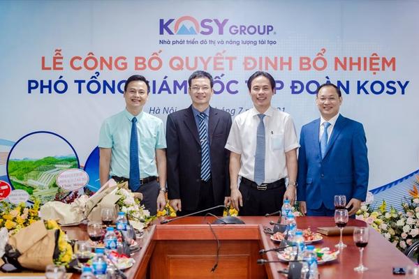 Tập đoàn Kosy bổ nhiệm thêm ba Phó Tổng Giám đốc