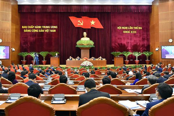 Trung ương xem xét nội dung xây dựng Quy chế làm việc của các cơ quan lãnh đạo Đảng