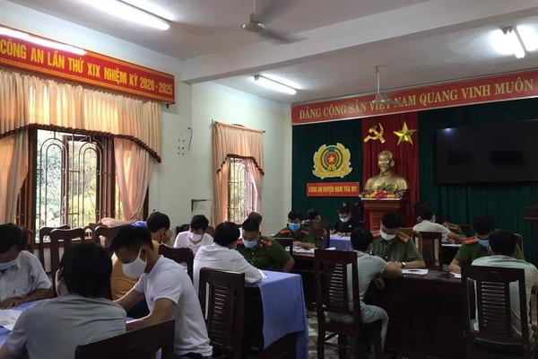 Quảng Nam: Triệt phá 2 tụ điểm ghi lô đề và cá độ bóng đá ở miền núi
