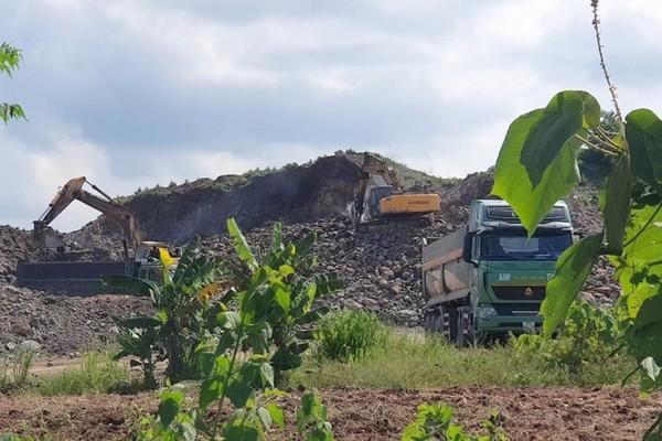 Thanh Hóa: Công ty Puzzo Lan Như Xuân nhiều lần sai phạm trong khai thác khoáng sản