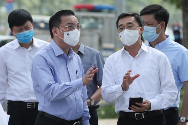 """Chủ tịch UBND TP Hà Nội Chu Ngọc Anh: Ưu tiên ngăn chặn mầm bệnh xâm nhập, không """"ngăn sông cấm chợ"""""""