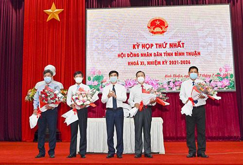 HĐND tỉnh Bình Thuận kiện toàn nhân sự chủ chốt nhiệm kỳ 2021-2026