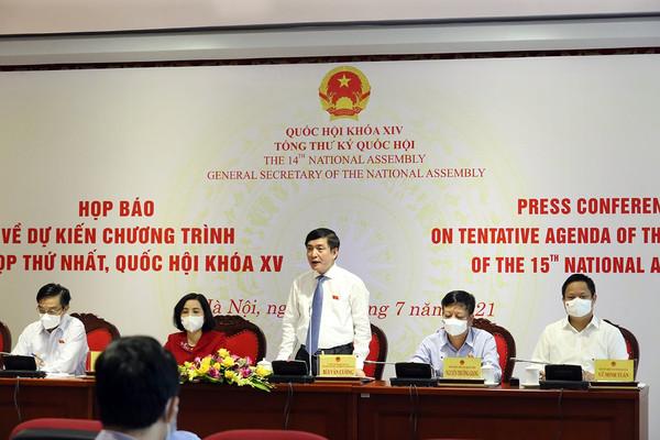 Kiện toàn 50 chức danh lãnh đạo cơ quan Nhà nước tại Kỳ họp thứ nhất, Quốc hội khóa XV