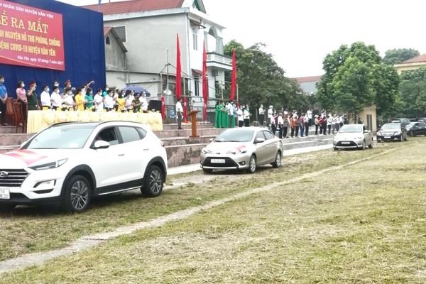Văn Yên (Yên Bái): Thành lập đội xe ô tô tình nguyện cùng địa phương chống dịch