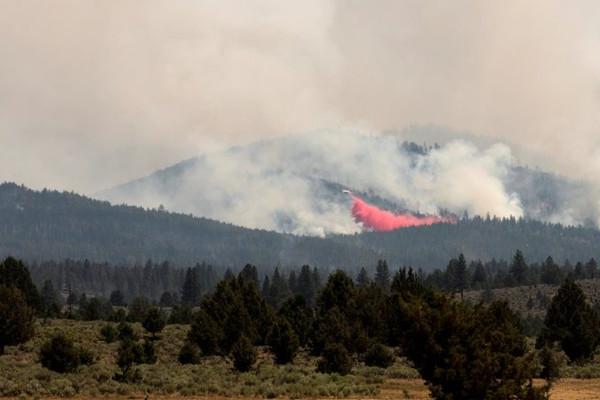 Cháy rừng nghiêm trọng ở Mỹ do thời tiết khô nóng, gió mạnh