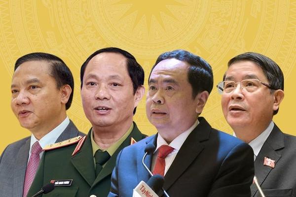 Bầu bốn Phó Chủ tịch Quốc hội