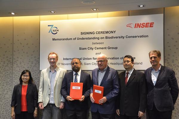 INSEE Việt Nam và IUCN ký thỏa thuận mới thực hiện mục tiêu bảo tồn đa dạng sinh học đến năm 2030
