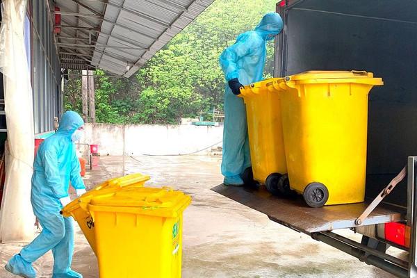 Bộ TN&MT yêu cầu tăng cường xử lý chất thải phát sinh do dịch bệnh COVID-19