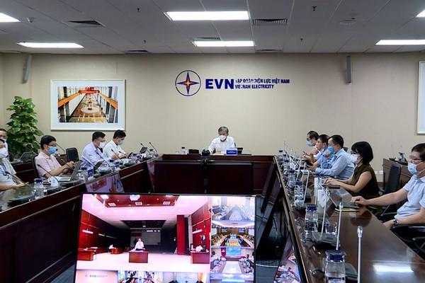 EVN yêu cầu toàn thể CBNV tiếp tục chấp hành nghiêm các yêu cầu về phòng, chống COVID -19