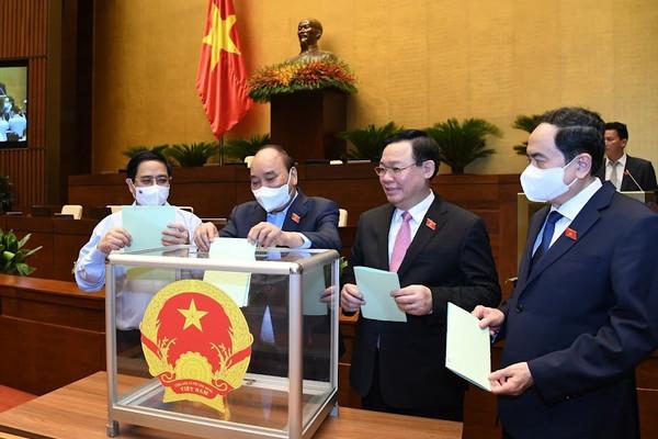 Phê chuẩn nhân sự Phó Chủ nhiệm, Ủy viên thường trực các Ủy bancủa Quốc hội