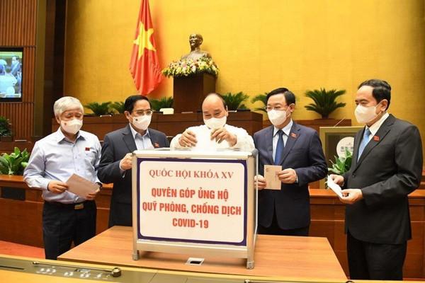 Thống nhất bổ sung nội dung phòng, chống COVID-19 vào chương trình Quốc hội