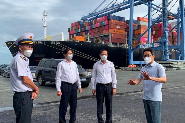 Phó Thủ tướng Vũ Đức Đam: Không để dịch bệnh lây nhiễm vào các cơ sở dầu khí, cảng biển