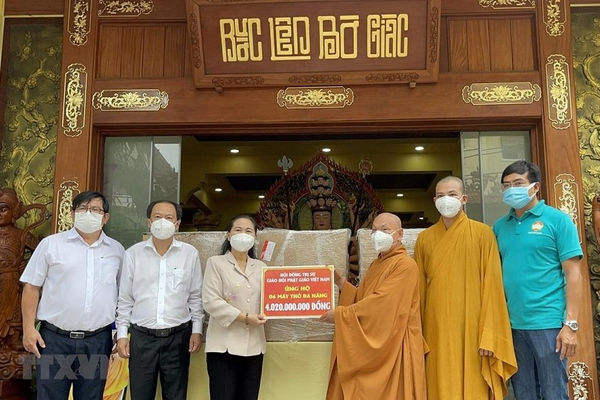 Phật giáo Việt Nam hướng về Thành phố Hồ Chí Minh