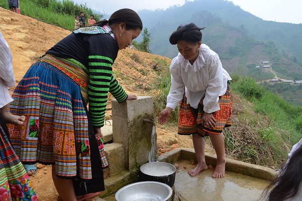 Đảm bảo nguồn nước sinh hoạt cho đồng bào vùng cao Văn Chấn