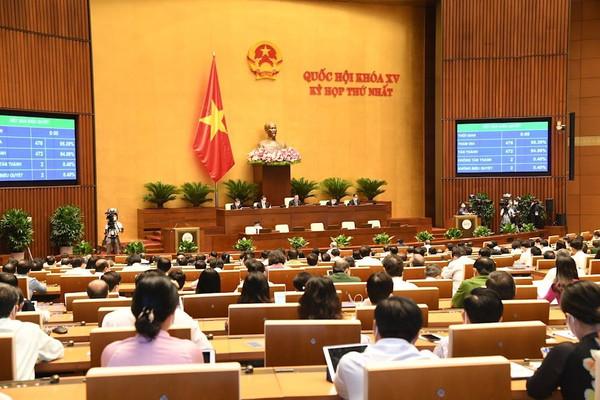 Chính phủ nhiệm kỳ mới có 4 Phó Thủ tướng và 18 Bộ trưởng
