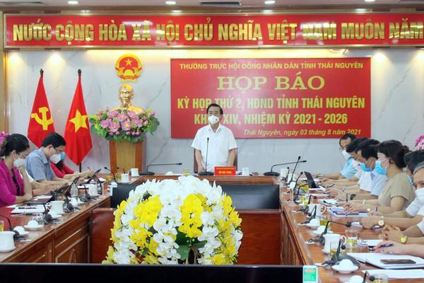 Kỳ họp thứ 2, HĐND tỉnh Thái Nguyên khoá XIV dự kiến khai mạc ngày 10/8