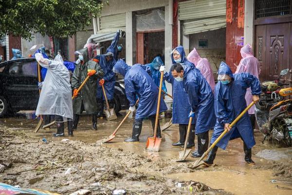 Gần 6.000 người sơ tán do mưa lớn ở Trung Quốc