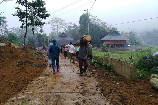 Lục Yên (Yên Bái): Người dân đồng lòng hiến đất làm đường