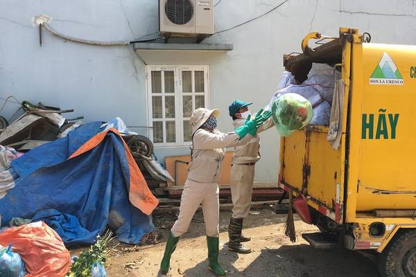 TP Sơn La: Phấn đấu giảm tỷ lệ rác thải được chôn lấp trực tiếp xuống dưới 50%