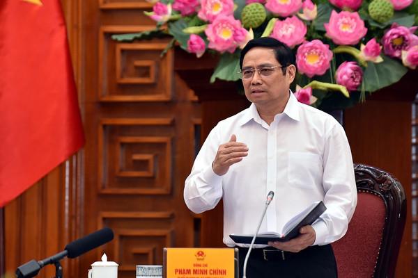 Thủ tướng Phạm Minh Chính chủ trì họp Ban Chỉ đạo quốc gia phòng, chống dịch bệnh COVID-19