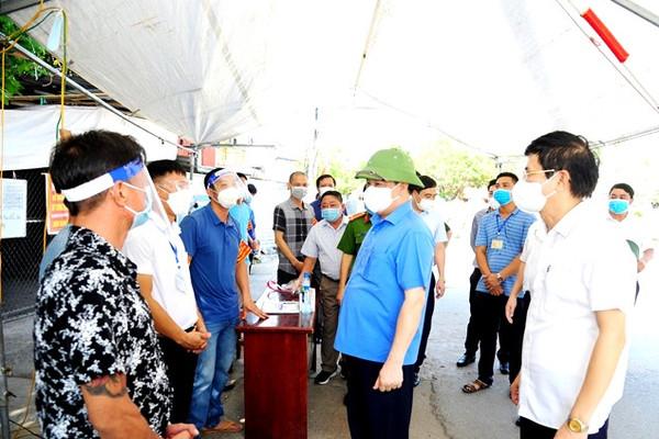 Bí thư Thành ủy Hà Nội: Giữ chắc 'vùng xanh', an toàn từ huyện đến thôn, xóm