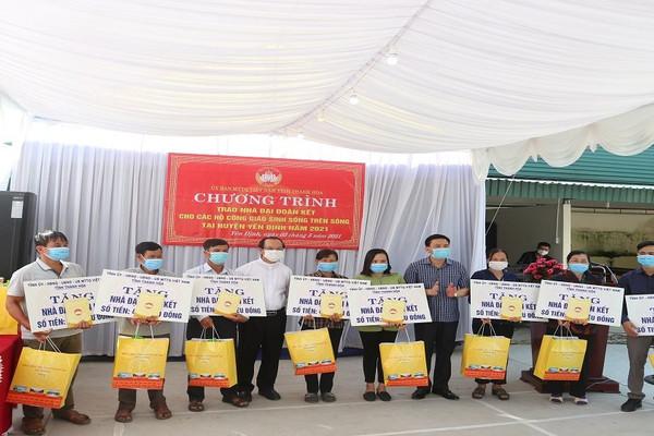 Thanh Hóa: Hỗ trợ xây dựng nhà Đại đoàn kết cho đồng bào công giáo