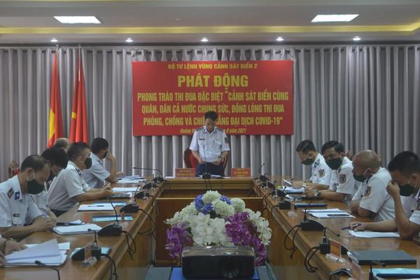 Bộ Tư lệnh Vùng Cảnh sát biển 2: Hỗ trợ kịp thời đối với nhân dân trong phòng, chống dịch