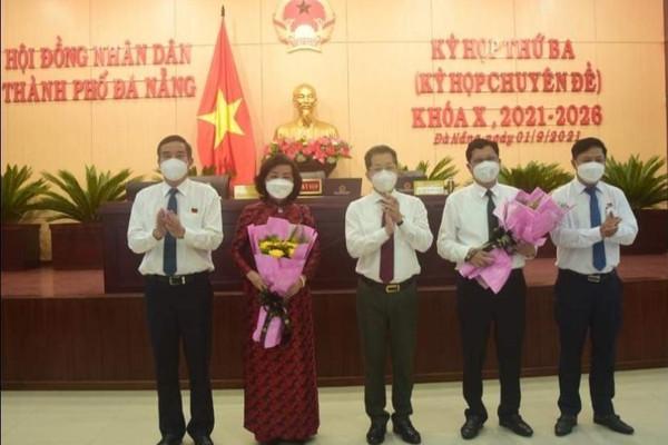 Ông Trần Phước Sơn và bà Ngô Thị Kim Yến được bầu làm Phó Chủ tịch UBND TP. Đà Nẵng