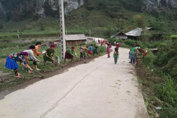 Nhiều mô hình bảo vệ môi trường ở vùng cao Hà Giang