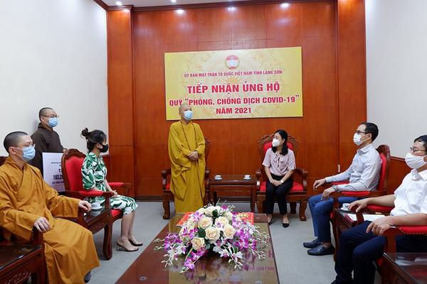 Phật giáo Lạng Sơn chung tay chống dịch