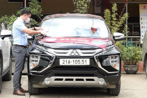 Văn Yên (Yên Bái): Đội xe tình nguyện hỗ trợ chống dịch chính thức hoạt động