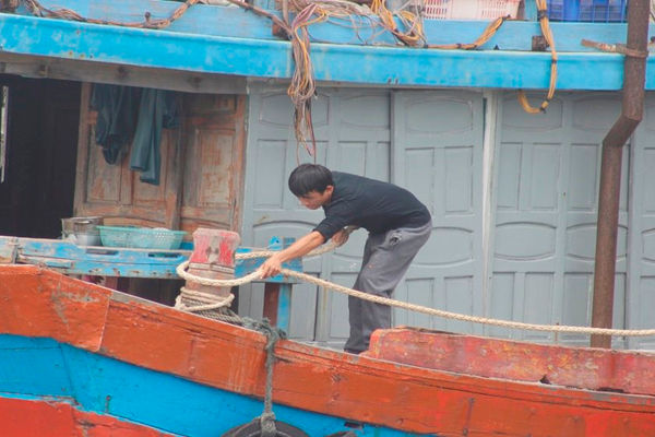 Quảng Bình: Gần 1.500 tàu thuyền chưa thể vào tránh bão CONSON