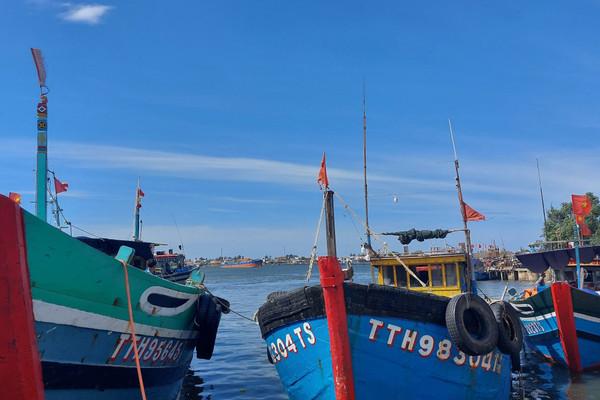 Ứng phó bão Conson ở Thừa Thiên- Huế: Bắn pháo hiệu kêu gọi tàu thuyền vào bờ