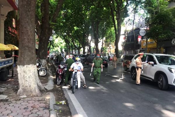 Hà Nội: Lực lượng công an xử phạt 119 triệu trong một ngày