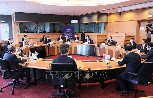 Chuyến thăm của Chủ tịch Quốc hội Vương Đình Huệ nâng tầm quan hệ EU - Việt Nam