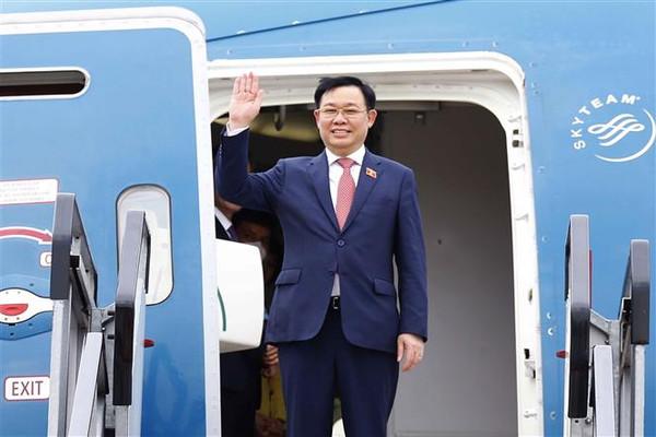 Chủ tịch Quốc hội Vương Đình Huệ kết thúc tốt đẹp chuyến thăm và làm việc tại châu Âu