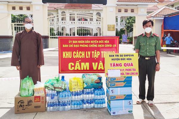 Phật giáo Long An đồng hành phòng, chống dịch bệnh Covid-19