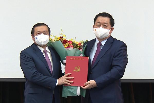 Ông Lại Xuân Môn giữ chức Phó Trưởng ban Ban Tuyên giáo Trung ương