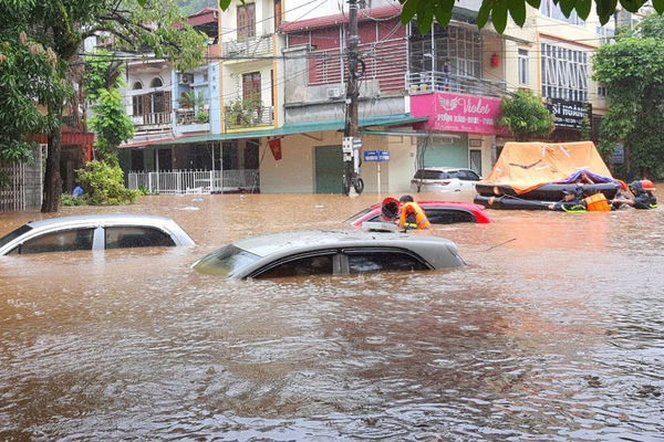 Các tỉnh Bắc Bộ chủ động ứng phó với tác động của mưa lớn