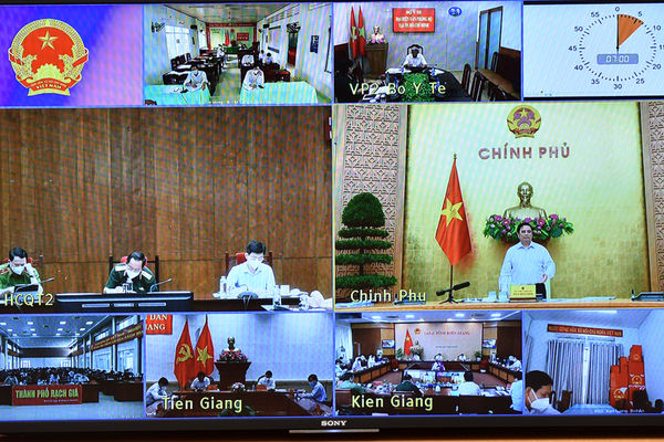 Chậm nhất đến 30/9/2021, tỉnh Kiên Giang và Tiền Giang phải kiểm soát được dịch bệnh
